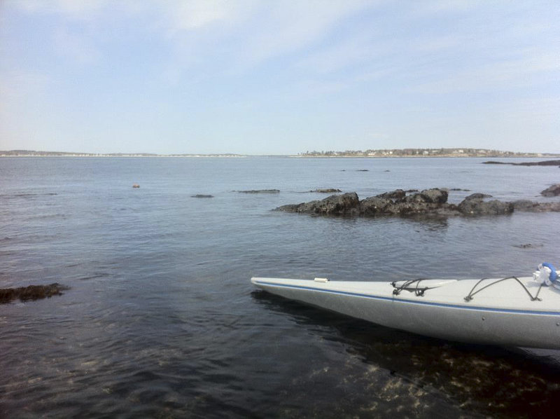 "Friends say this photo from Bluff Island, with the caption ""Another day, another paddle,"" was included among the last online postings made by Steven Langlais, who kayaked out of Scarborough on Saturday. A short time later, Langlais was dead, just a day after his 51st birthday."