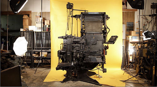 The Linotype was standard equipment in the publishing industry from the late 1800s into the 1960s and '70s.