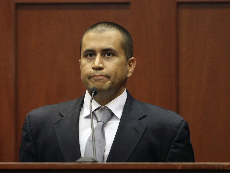 George Zimmerman takes the witness stand Friday in Sanford, Fla., where he apologized to the parents of teenager Trayvon Martin.