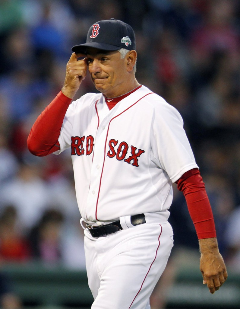 Red Sox Manager Bobby Valentine has the Fenway Park fans booing him after just 14 games. And he heard plenty of boos Saturday during pitching changes in a 15-9 loss.