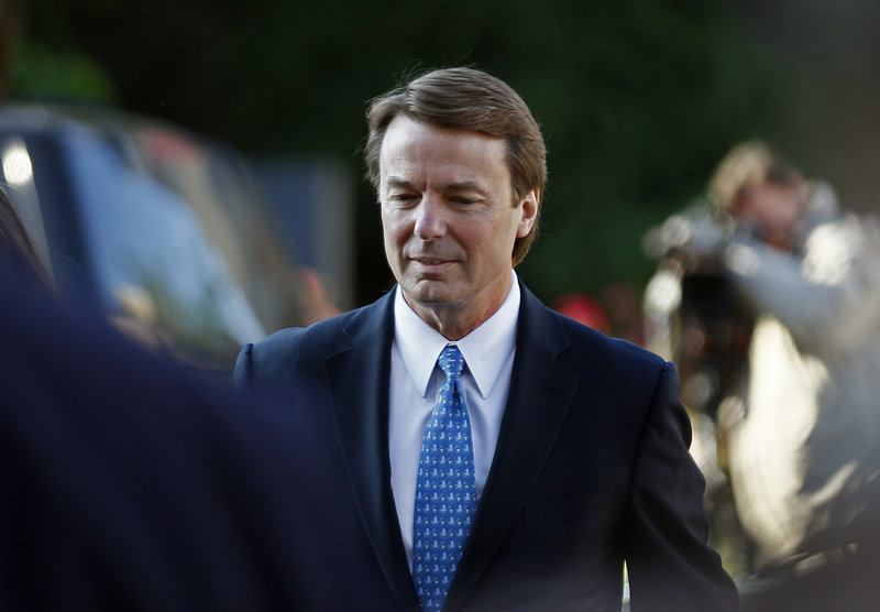 John Edwards has pleaded not guilty to six criminal counts related to violations of campaign finance laws.