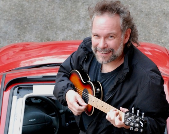 Folk singer John Gorka performs on Friday at the Chocolate Church Arts Center in Bath.