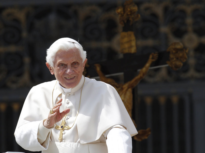"Pope Benedict XVI ""understands his mission as custodian of the faith,"" says the Rev. Robert Gahl Jr. of Rome's Pontifical Holy Cross University. ""Benedict's aim is to unite the churcharound the faith handed down by Jesus, the church's founder."""