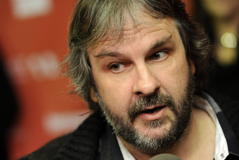 """Peter Jackson says his new approach has produced a movie that's """"much more gentle on the eyes."""""""