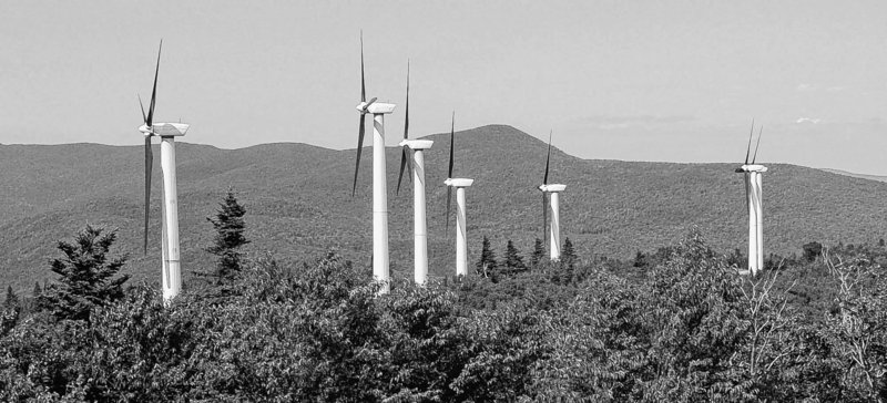 A letter writer says protecting a view isn't a good enough reason to oppose the kind of clean energy that wind projects provide.