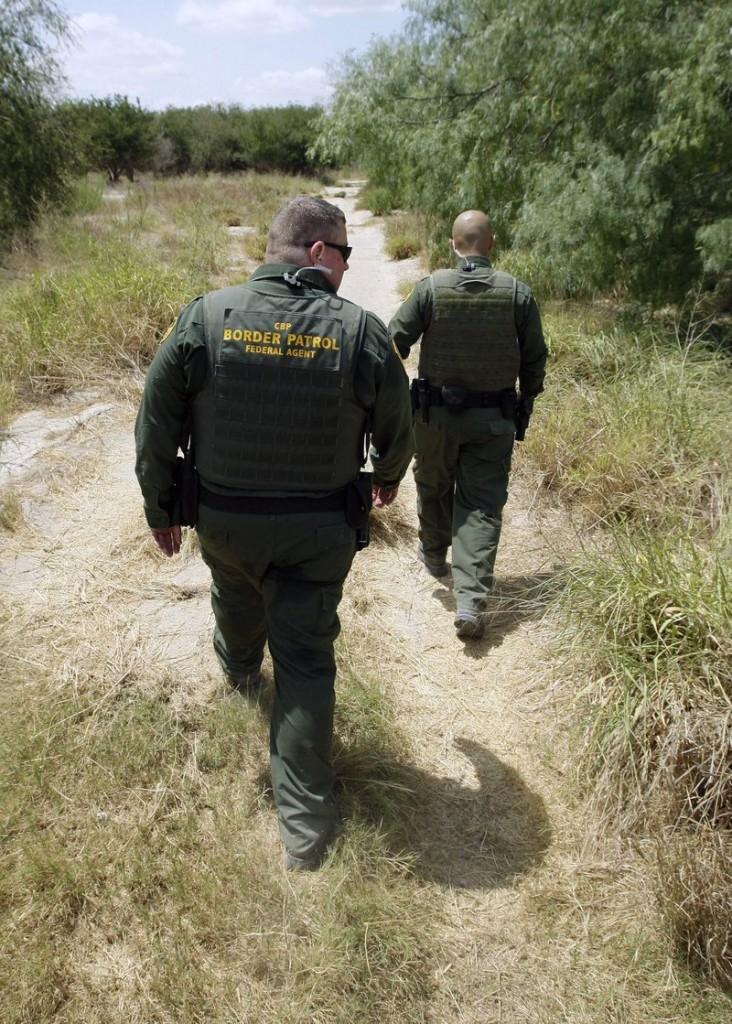 U.S. Customs and Border Patrol agents patrol along the Rio Grande near Penitas, Texas. From October 2011 through March, 5,252 boys and girls under the age of 18 ended up in U.S. custody without a parent or guardian – a 93 percent jump from the same period the previous year.