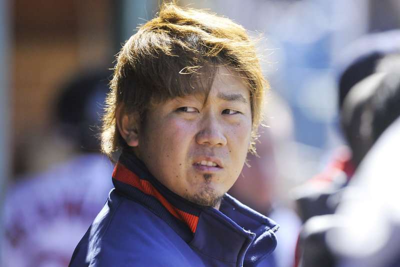 Boston Red Sox pitcher Daisuke Matsuzaka, starting for the Sea Dogs in a rehab assignment in Portland on Saturday, acknowledged that he has a lot of post-surgery work to do.