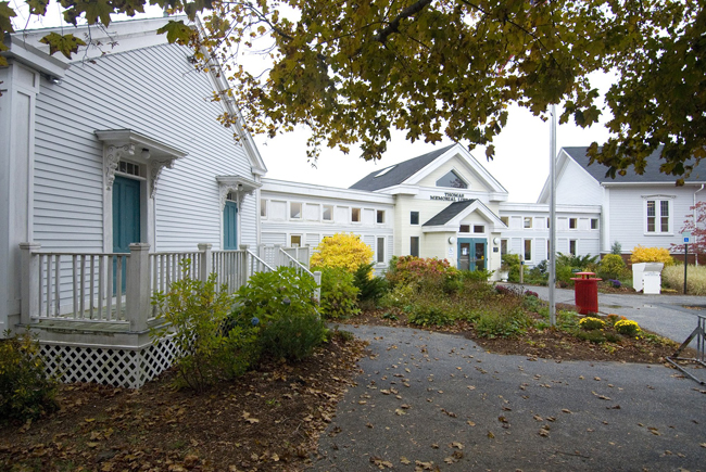 Thomas Memorial Library in Cape Elizabeth.