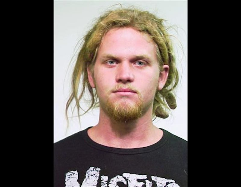 This undated photo provided Saturday, May 19, 2012 by the Chicago Police Department shows Brent Vincent Betterly, 24, of Oakland Park, Fla. Betterly was one of three men arrested Wednesday, May 16, 2012, in Chicago, accused of making Molotov cocktails with plans to attack President Barack Obama's campaign headquarters, Mayor Rahm Emanuel's home and other targets during this weekend's NATO summit, according to prosecutors at a court hearing Saturday. The three were arrested in a nighttime raid of an apartment in the city's South Side Bridgeport neighborhood ahead of the two-day meeting. (AP Photo/Chicago Police Department)