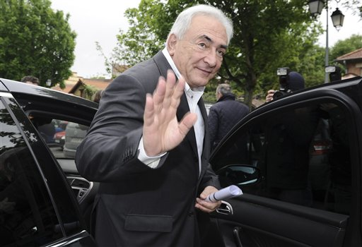 Dominique Strauss-Kahn, former International Monetary Fund leader, in a May 6, 2012, photo.