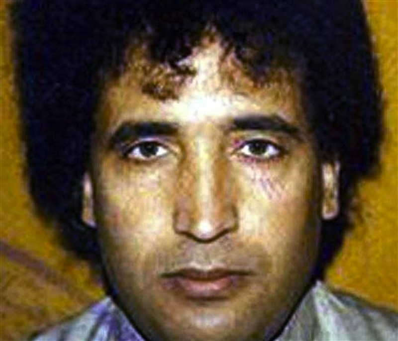 This undated file photo, issued by the British Crown Office, shows Abdel Baset al-Megrahi. A son says Al-Megrahi, the former Libyan intelligence officer who was the only person ever convicted in the 1988 bombing of a PanAm flight over Scotland that killed 270 people, has died in Tripoli, Libya. Al-Megrahi suffered from prostate cancer. His death was announced Sunday, May 20, 2012, by his son Khaled. (AP Photo/Crown Copyright, File)
