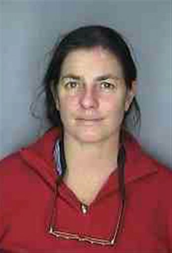 A police booking photo of Mary Richardson Kennedy released by the Westchester County District Attorney's Office on May 15, 2010.