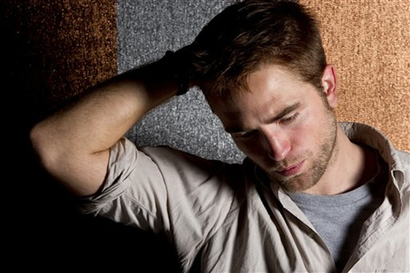Actor Robert Pattinson poses for portraits during the 65th international film festival, in Cannes, southern France, Saturday, May 26, 2012. (AP Photo/Joel Ryan) xcannes2012bestportraitx xcannes2012bestx