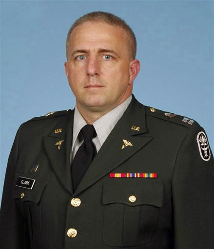 An undated photo provided by the U.S. Army of Capt. Bruce Kevin Clark.