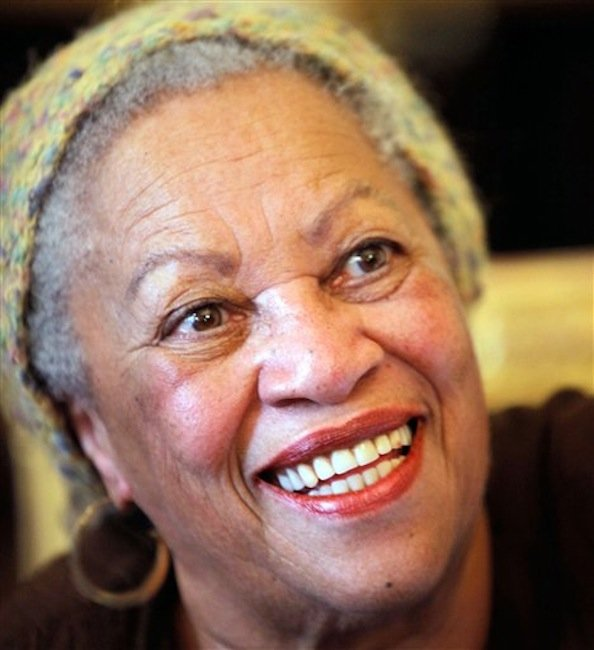 In this is Nov. 3, 2010 file photo of U.S novelist Toni Morrison smiles in Paris. President Barack Obama and first lady Michelle Obama will honor a diverse cross-section of political and cultural icons ó including former Secretary of State Madeleine Albright, astronaut John Glenn, basketball coach Pat Summitt and rock legend Bob Dylan ó with the Medal of Freedom at a White House ceremony Tuesday. The Medal of Freedom is the nation's highest civilian honor. It's presented to individuals who have made especially meritorious contributions to the national interests of the United States, to world peace or to other significant endeavors. (AP Photo/Thibault Camus, File)