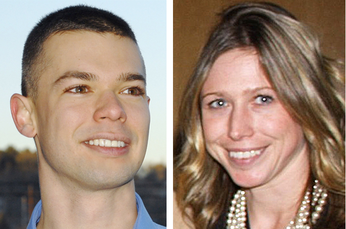 State Reps. Cornell du Houx and Erin Herbig