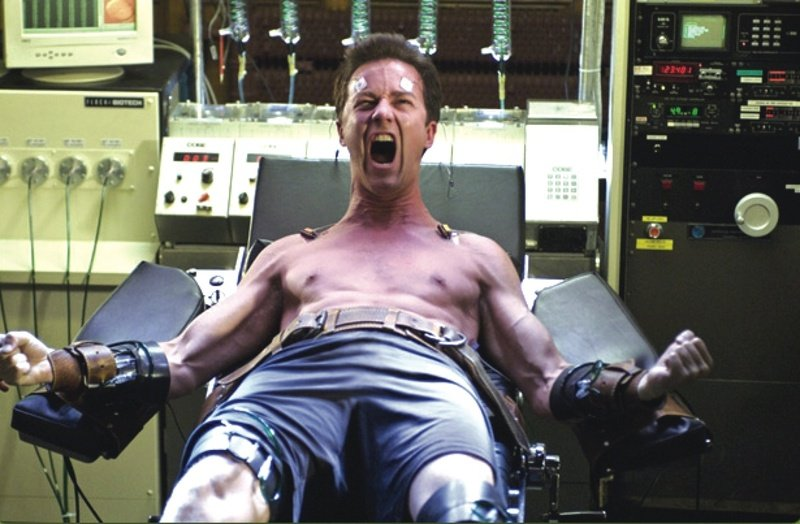Edward Norton plays Bruce Banner in 2008's