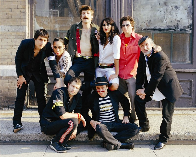 Gypsy punk outfit Gogol Bordello, above, will perform Thursday at the State Theatre in Portland.