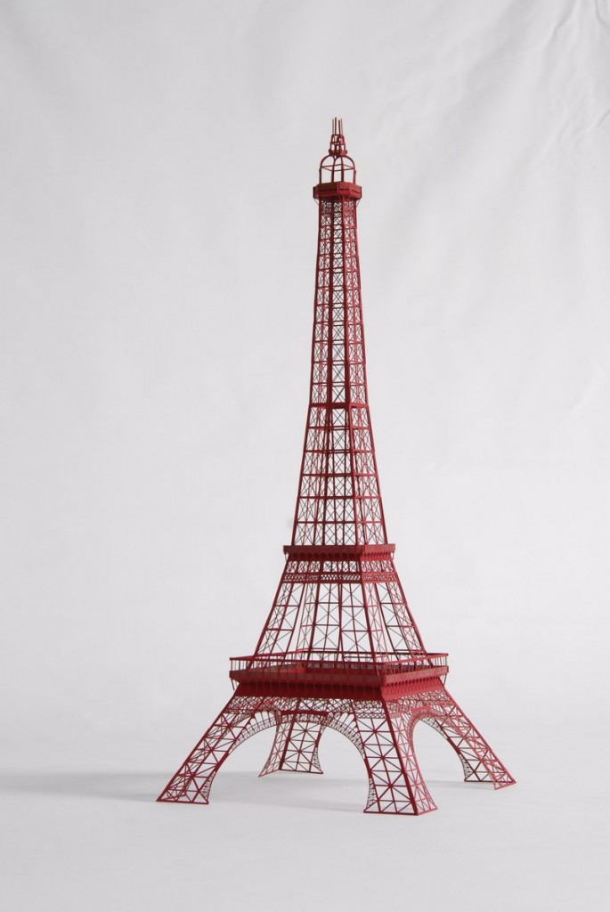 Versions of Dallas-based designers Michael Reilly and Shane Selman's Eiffel Tower sell for $9.94 to $19.95.
