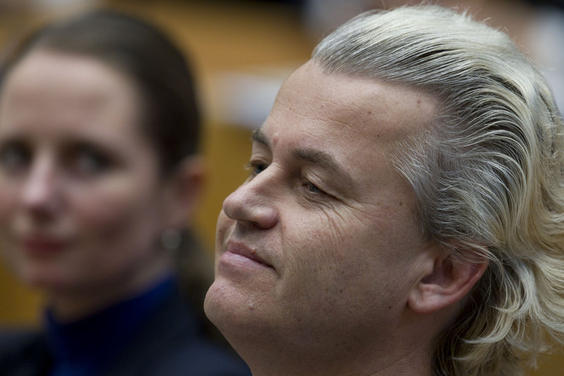 Dutch Freedom Party lawmaker Geert Wilders, 48, rose from political obscurity during the past decade to become one of the most influential far-right politicians in Europe.