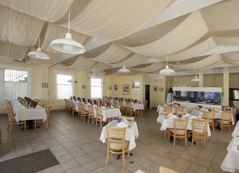 Yellowfin's Restaurant is a good spot for a wedding shower or birthday party.