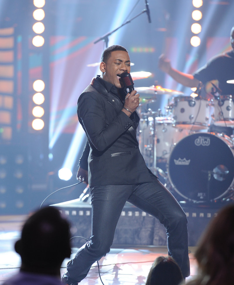 Josh Ledet performs on