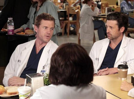 Eric Dane and Patrick Dempsey in