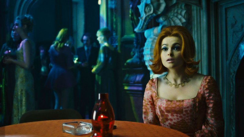 "Helena Bonham Carter as the live-in psychiatrist in ""Dark Shadows."""