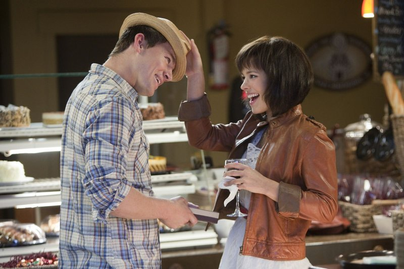 "Channing Tatum and Rachel McAdams in ""The Vow."""