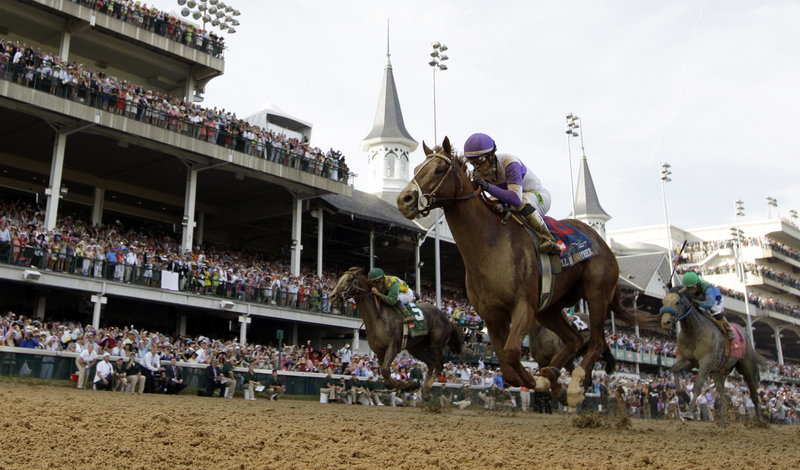 I'll Have Another was in the middle of the pack Saturday at the Kentucky Derby, watching as the leaders went through a blistering pace that couldn't be maintained. Then came the final furlong, and at the wire, I'll Have Another, a 15-1 long shot, was the winner.