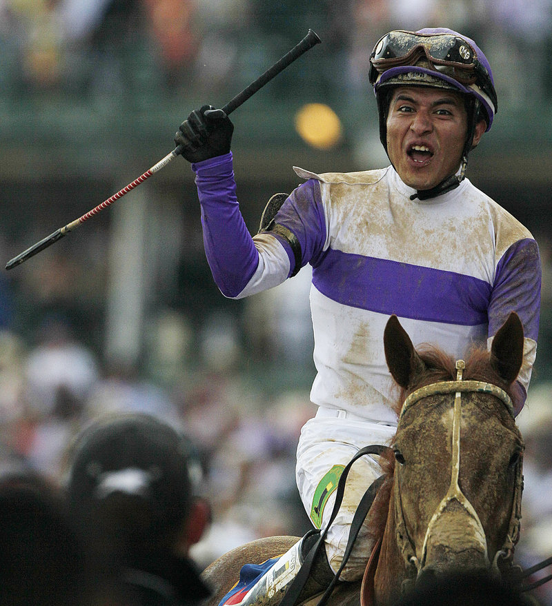 Mario Gutierrez, riding in the Kentucky Derby for the first time, felt from the start that there was something special about I'll Have Another, and he was right. So very right.