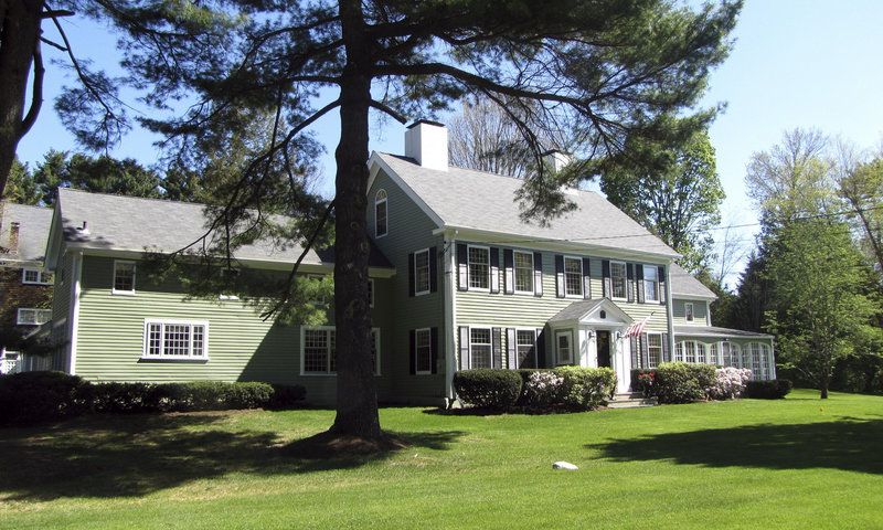 Babe Ruth lived in this house in Sudbury, Mass., from 1922 to 1926. It is now on the market for $1.65 million.