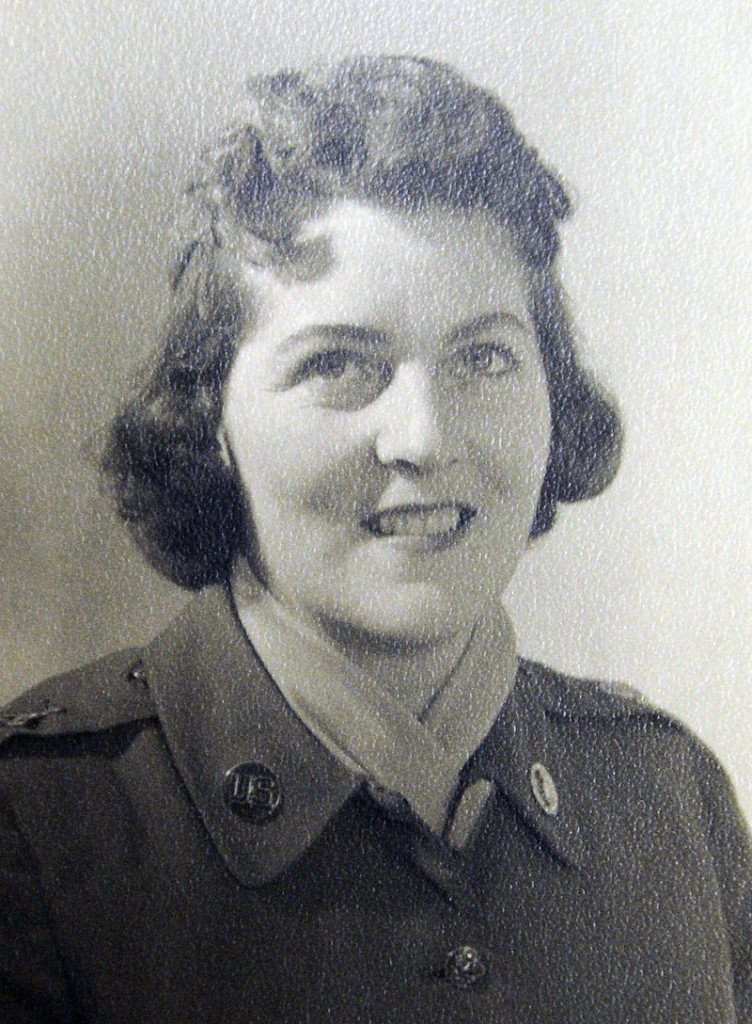 Carol Reynolds in a 1960 photo at Fort Knox, Ky.