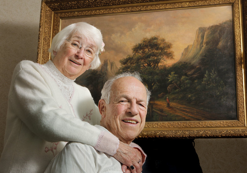 Al Hawkes and his wife, Barb, are trying to document his great-aunt's work.