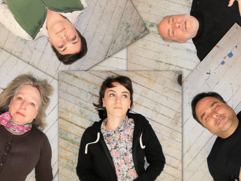 """The cast of """"Circle Mirror Transformation,"""" the Annie Baker play now at Lucid Stage in Portland."""