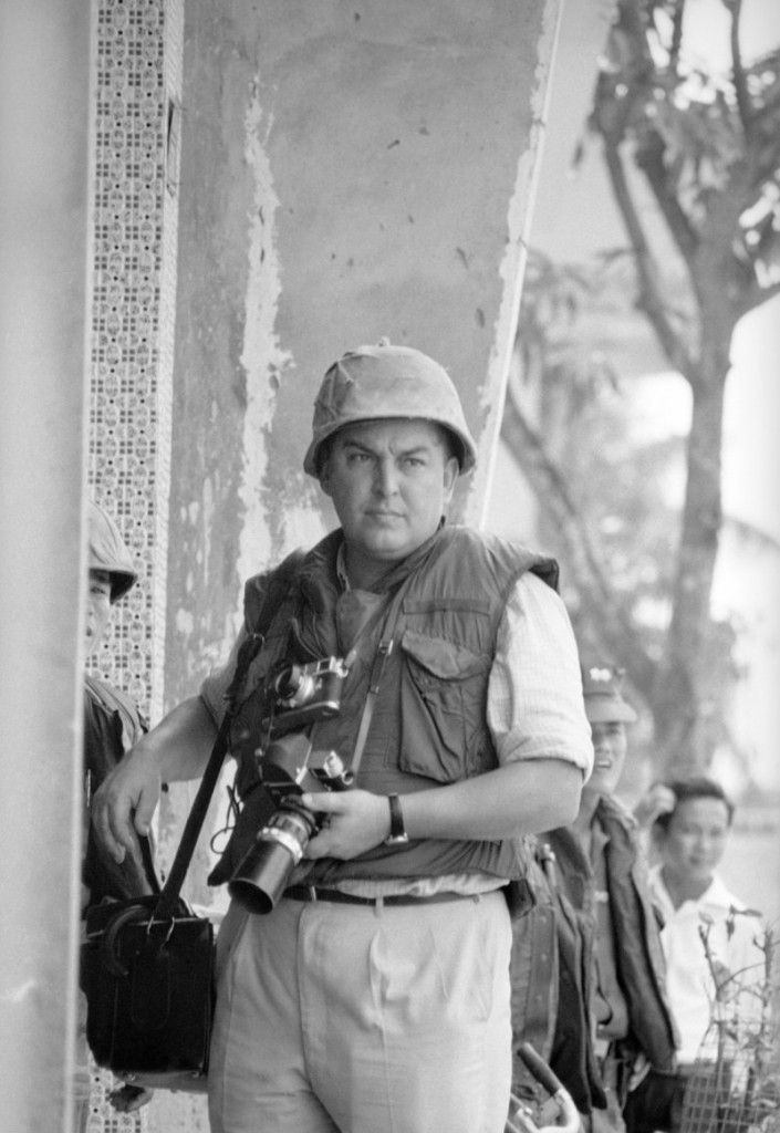 "Horst Faas in 1968 was the Associated Press Saigon bureau photo chief. Winner of two Pulitzer Prizes, he organized and trained a team of freelance photographers in Vietnam nicknamed ""Horst's Army."""