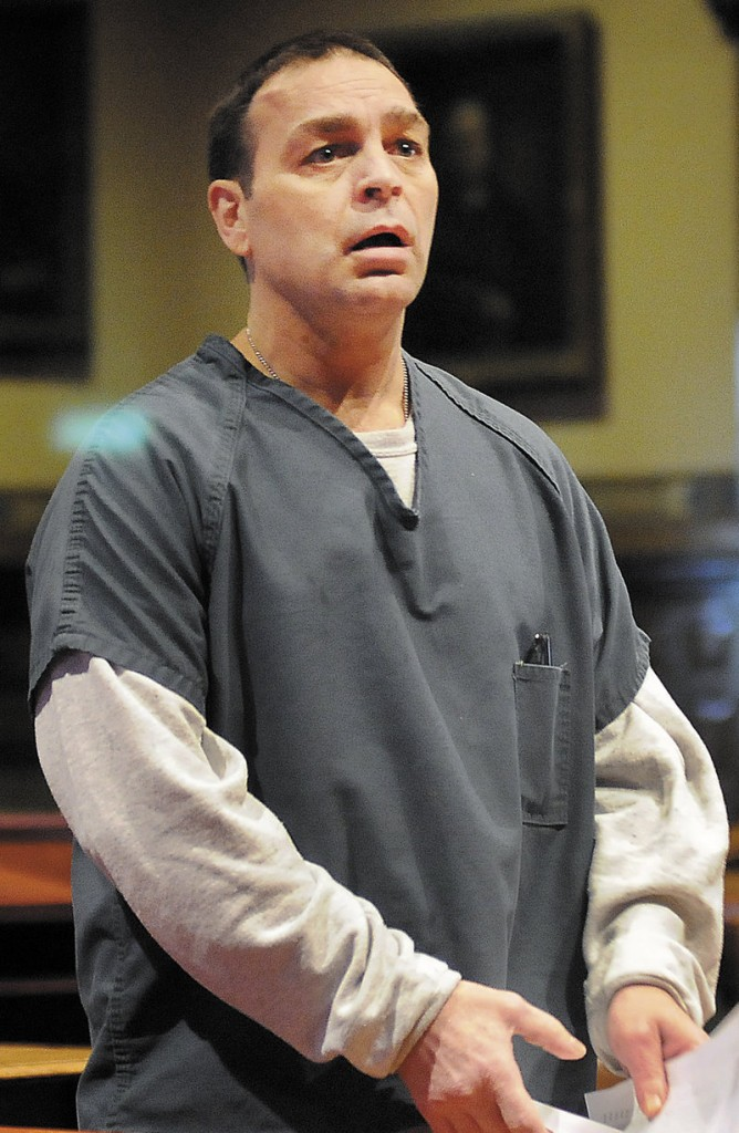 Raymond Bellavance, 51, was sentenced to 30 years in prison Thursday in Kennebec County Superior Court in Augusta for starting a fire in June 2009 that forced seven people from their home and destroyed the Grand View Topless Coffee Shop in Vassalboro.
