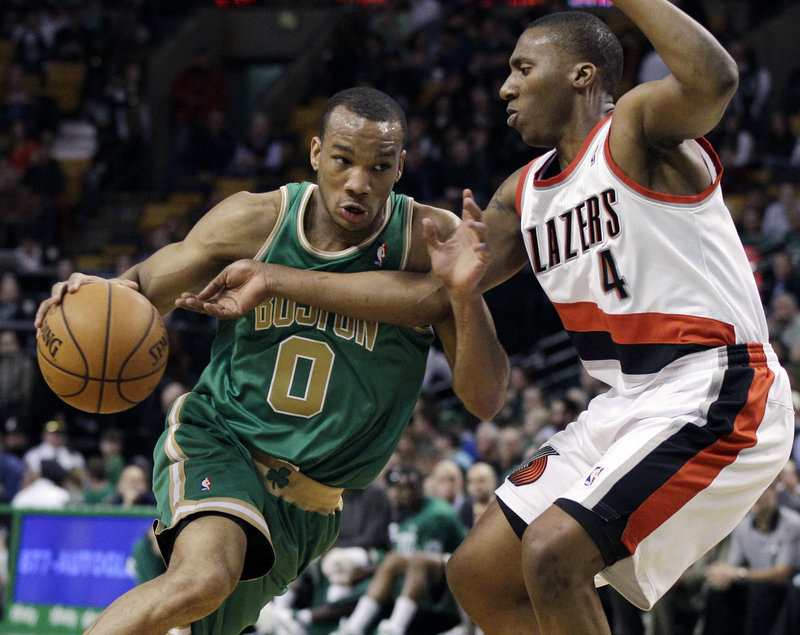 Avery Bradley, left, will be needed by the Celtics, who are dealing with injuries to Ray Allen and Paul Pierce.