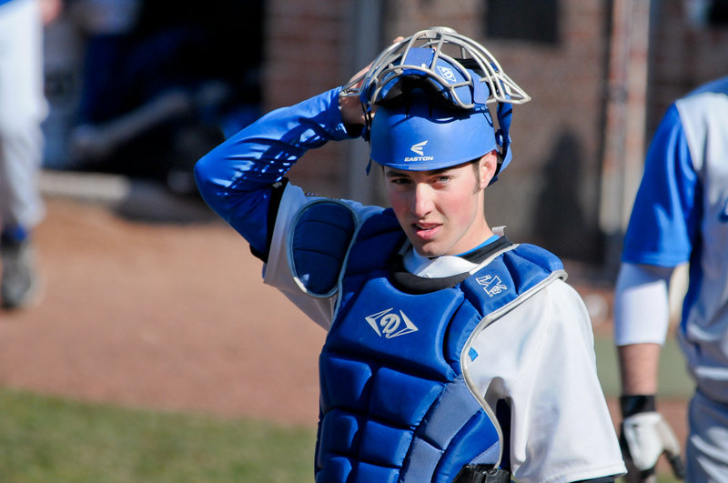 Nic Lops, a standout catcher at Cheverus, leads St. Joseph's with a .419 batting average.