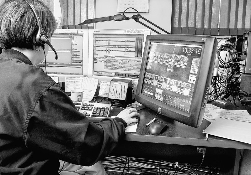 Emergency dispatchers like this one might have been impeded by the news coverage of the illegal jamming of Lebanon's public safety frequency, a reader says.
