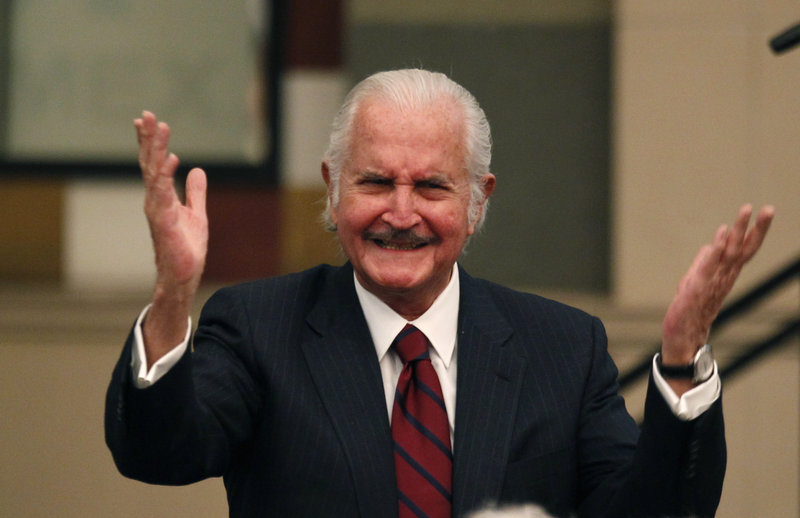Carlos Fuentes, whose writing delved into the failed ideals of the Mexican revolution, wrote his first novel at age 29 and published an essay in a newspaper on the day he died.