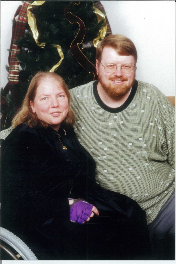 Alice Conway and her longtime partner, Dean Conway. Ms. Conway took an active role in improving conditions for the disabled.