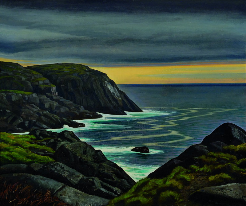 """Untitled"" by Rockwell Kent, from ""Jamie Wyeth, Rockwell Kent and Monhegan,"" at the Farnsworth Art Museum in Rockland."