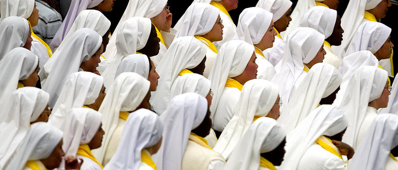 Catholics have responded on Facebook and Twitter to a critique of the Leadership Conference of Women Religious by the church's orthodoxy watchdog. Some praise the nuns, while others call for more nuns to return to the cloister.