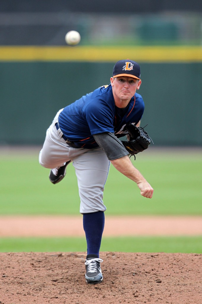 Ryan Reid learned about himself and baseball while pitching in Venezuela during the winter, and now he's continuing to rise in the Tampa Bay Rays' organization, playing for the Durham Bulls in Triple-A.