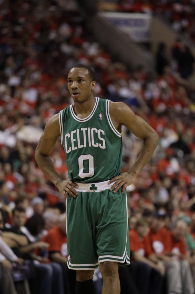 Avery Bradley, who played nine games for the Red Claws last season, has had his shoulder pop out of its socket four times this season.