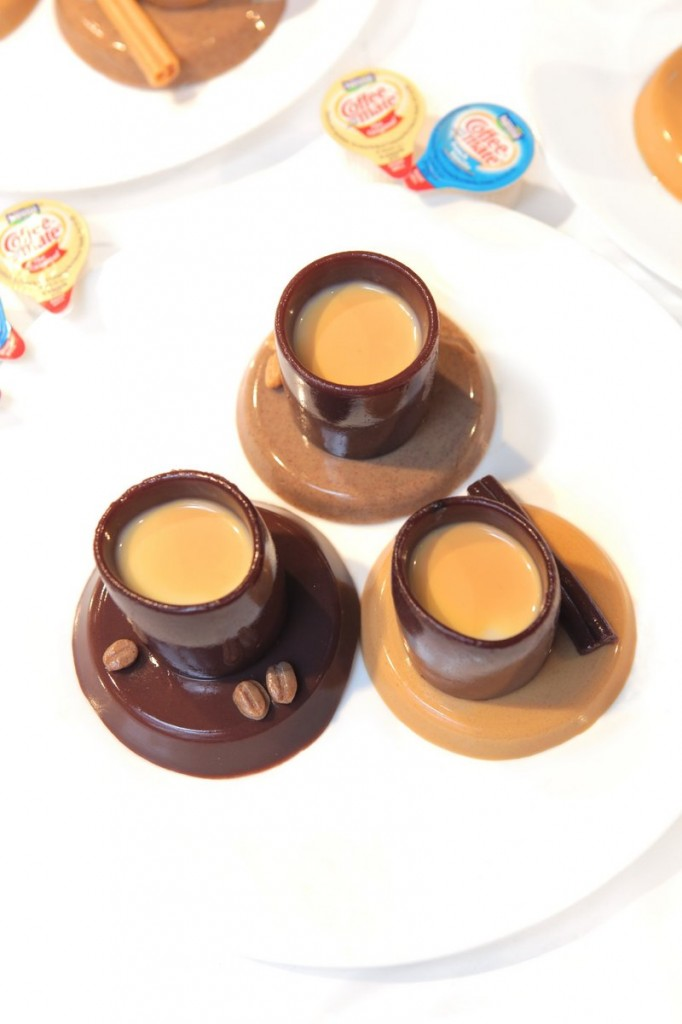 The Esprell-O team at the Jell-O Mold Competition produced this espresso eye-opener, flavored with chocolate, vanilla, coffee and caramel, and won the prize for aesthetics. The team was made up of high school sophomores in the Cooper-Hewitt National Design Museum's Design Scholars Program.