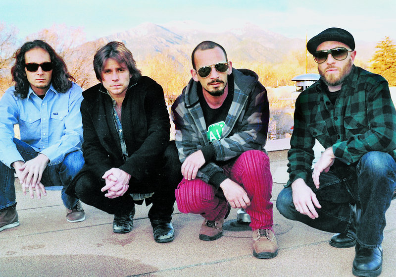 From left: Anthony LoGerfo, Lukas Nelson, Tato Melgar and Corey McCormick