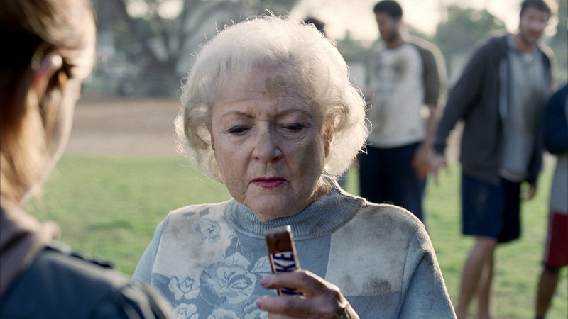 The Associated Press A new DVR allows viewers to zip past TV commercials with the touch of a button. But ads like the 2010 Super Bowl commercial with actress Betty White selling Snickers candy bars are what pay the bills for programming.