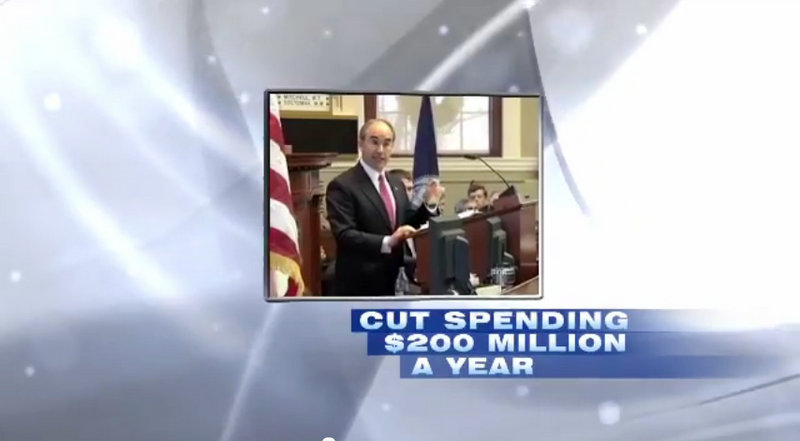An image from Bruce Poliquin's advertisement.